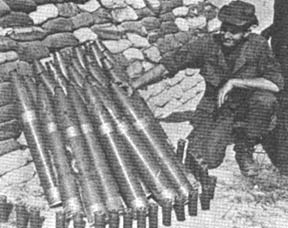 SSG Curtis Daniels and rockets