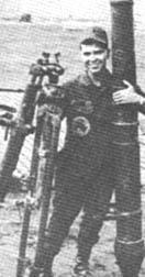 1Lt. Danny Goins and 120mm mortar