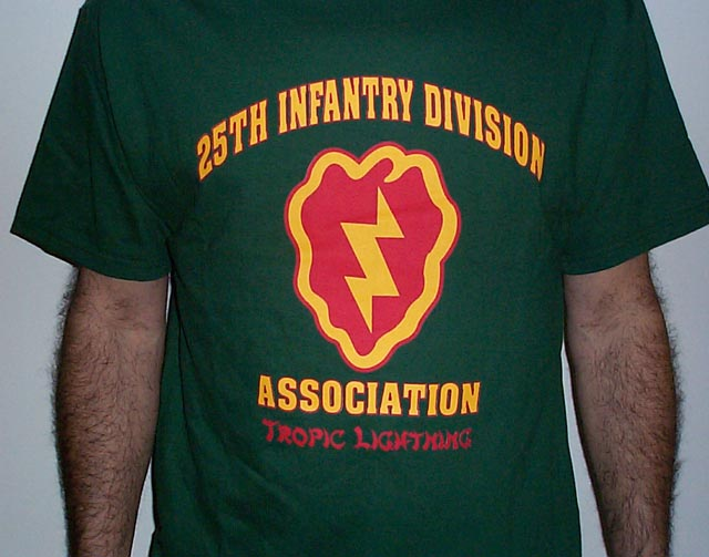 25th Infantry Division Association T-shirt | 25th Infantry ...