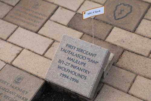 Brick Dedication