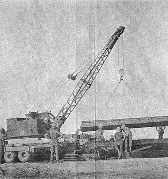 how to build a crane strain