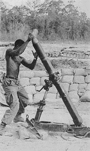 Vietnam Mortar Fire : February