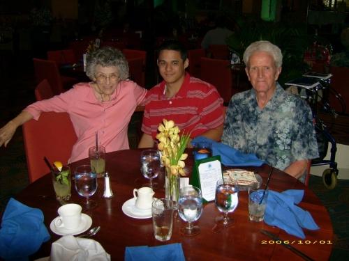 Anita, Brian  Ralph Melcher